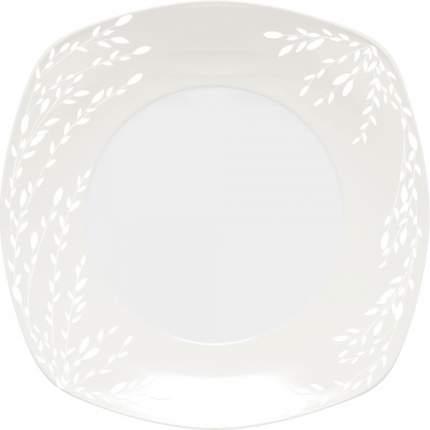 Тарелка обеденная DOMENIK, WILLOW WHITE, 26x26 см