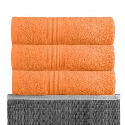 Полотенце BAYRAMALY Volna Цвет: Оранжевый 40х70 см