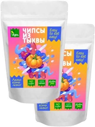 Чипсы овощные Easy to eat easy натуральные из тыквы 2 шт 60 г