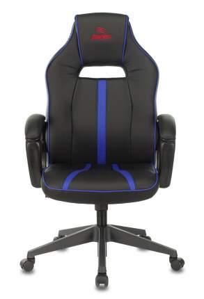 Кресло игровое Бюрократ VIKING ZOMBIE A3 BL черный/синий искусственная кожа