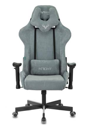 Кресло игровое ZOMBIE VIKING KNIGHT LT28 FABRIC серо-голубой крестовина металл
