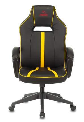 Кресло игровое Бюрократ VIKING ZOMBIE A3 YEL черный/желтый искусственная кожа