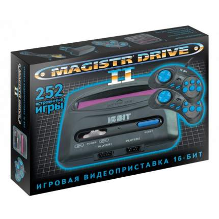 Игровая приставка Magistr Drive 2 lit 252 игры SMDL-252