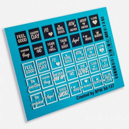 BPW.Style Слайдер-дизайн 3D «Тексты иконки» №3d-137