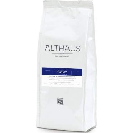 """Чай Althaus """"Mountain Herbs"""", черный листовой с добавками, 250 гр"""