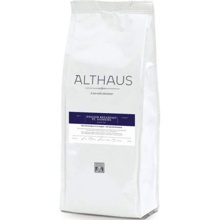 """Чай Althaus """"English Breakfast St. Andrews"""", черный листовой, 250 гр"""