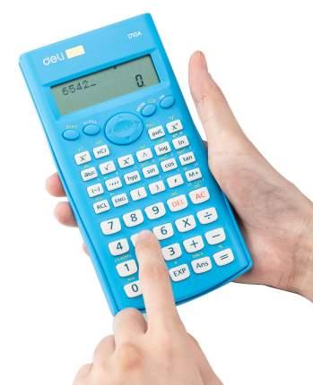 Калькулятор Deli E1710A/BLU