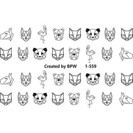 BPW.Style Слайдер-дизайн «Животные» №1-559