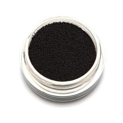 TNL Бульонки супермелкие черные  02 мм