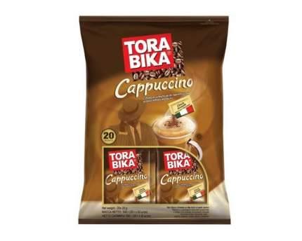 Кофе растворимый Tora bika Cappuccino 3 в 1 с шоколадной крошкой 20 шт 25 г