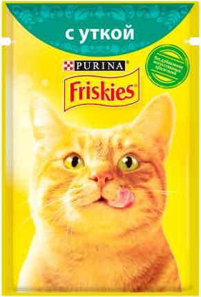 Влажный корм для кошек Friskies, c уткой в подливе, 24шт по 85г