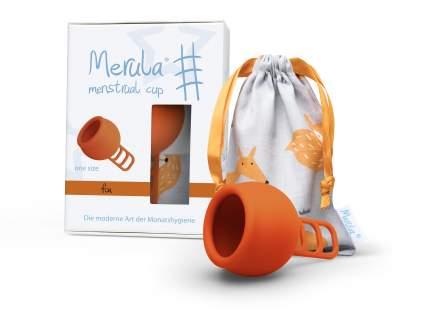 "Менструальная чаша ""Merula"" оранжевая One Size"