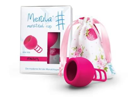 """Менструальная чаша """"Merula"""" розовая One Size"""