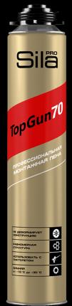 Профессиональная монтажная пена Sila Pro TopGun 70 winter, 875 мл