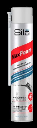 Пена монтажная всесезонная Sila HOME MAX FOAM, 750 ml