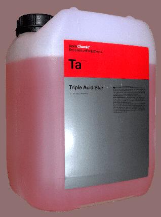 Очиститель колёсных дисков Koch Chemie TRIPLE ACID STAR (11 кг) 242011