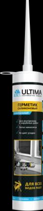 Герметик ULTIMA U силиконовый серый универсальный 280мл H2629
