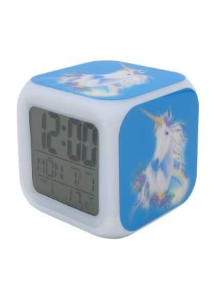 Часы-будильник Единорог с подсветкой №7
