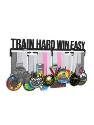 Держатель для медалей (Медальница) Train hard win easy