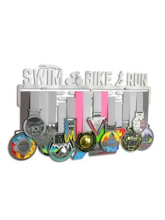 Держатель для медалей (Медальница) Swim bike run 3.0