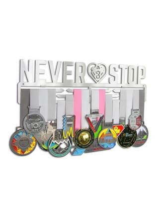 Держатель для медалей (Медальница) Never stop heart