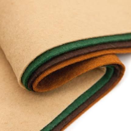 Фетр листовой ассорти 20 х 30см, 1,4мм, 180гр. (4шт.), арт. 7715420 Астра
