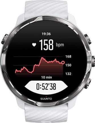 Спортивные наручные часы Suunto 7 White Burgundy