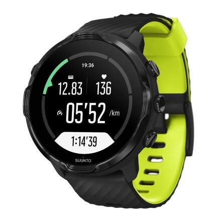 Спортивные наручные часы Suunto 7 Black Lime