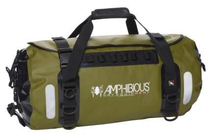 Сумка дорожная на мотоцикл Amphibious Voyager 60 л., цвет Wild Green