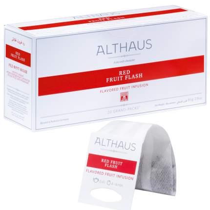 Чай фруктовый в пакетах для чайника Althaus ред фрут флэш 20*4 г