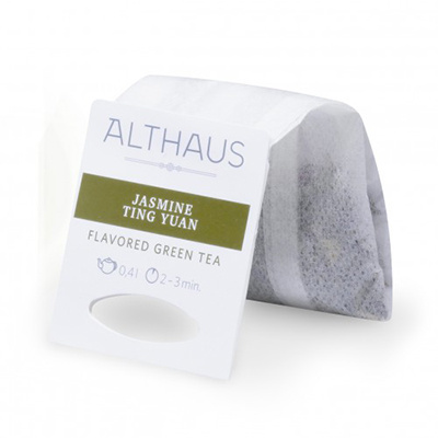 Чай зеленый в пакетах для чайника Althaus жасмин тинг юань 20*4 г