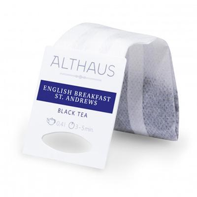 Чай черный в пакетах для чайника Althaus English Breakfast St. Andrews 20*4 г