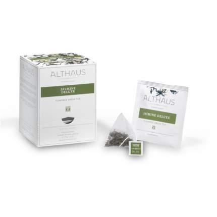 Чай зеленый в пирамидках Althaus жасмин делюкс 15*2.75 г