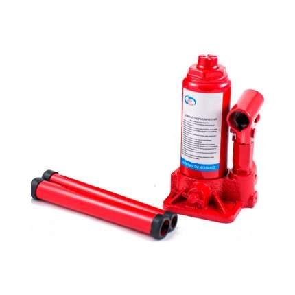 Домкрат гидравлический бутылочный AUTOVIRAZH AV-074203 3 т в коробке красный