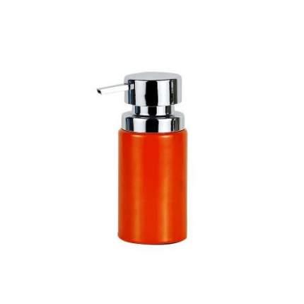 Дозатор для жидкого мыла PRIMANOVA, BORA, 6х16 см, оранжевый