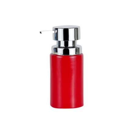 Дозатор для жидкого мыла PRIMANOVA, BORA, 6х16 см, красный