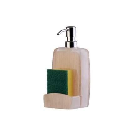 Дозатор для жидкого мыла PRIMANOVA, ASHLEY, 10х9,5х21 см, бежевый