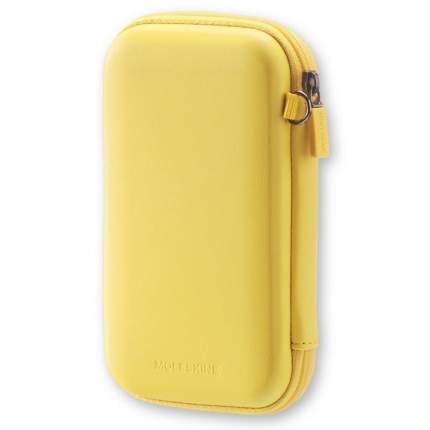 "Чехол для путешествий Moleskine ""Journey Pouch Small"", желтый, 70х110x30 мм"