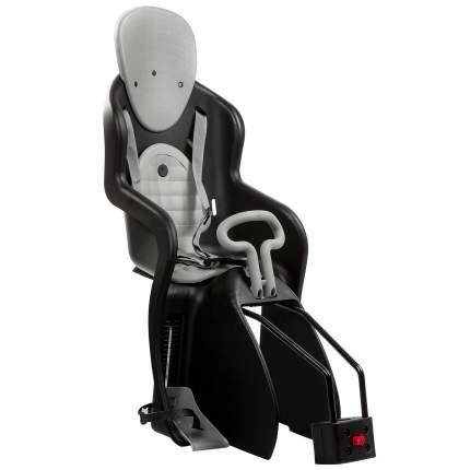Детское велокресло заднее STG GH-511 серое/черное
