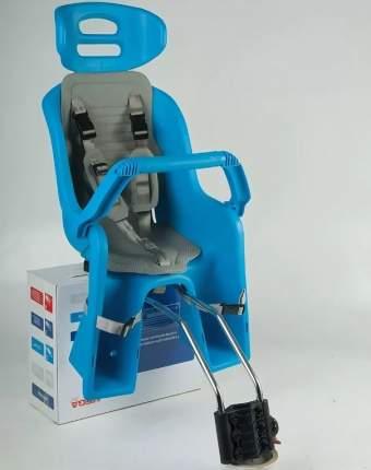 Детское велокресло заднее SW-BC-137 синее