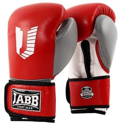 Боксерские перчатки Jabb US 80 красные/белые 12 унций