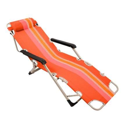 """Кресло-шезлонг """"Orange"""", 5 положений, стальной каркас, 177х65х37 см"""