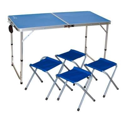 Набор мебели туристической (стол и 4 стула)