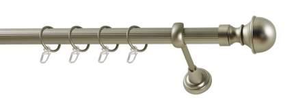 Карниз металлический Бостон стыкованный WERDECO, 180 см, D=25мм, наконечник 2шт