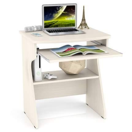 Стойка для ноутбука Мебельный Двор СК-1 дуб, столешница из МДФ, 67х55х75 см.