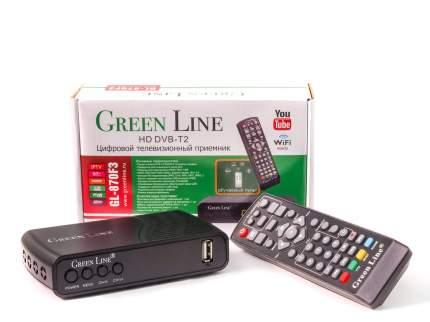DVB-T2 приставка Green Line GL-870 Black