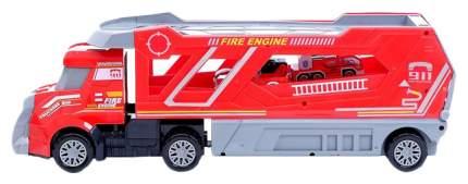Грузовик инерционный «Пожарная служба» с 3 машинами Sima-Land