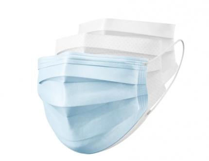Маска медицинская Dr.Verde+ Ultra Comfort одноразовая 50 шт. голубой