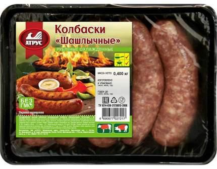 Колбаски шашлычные охл. 400г атрус
