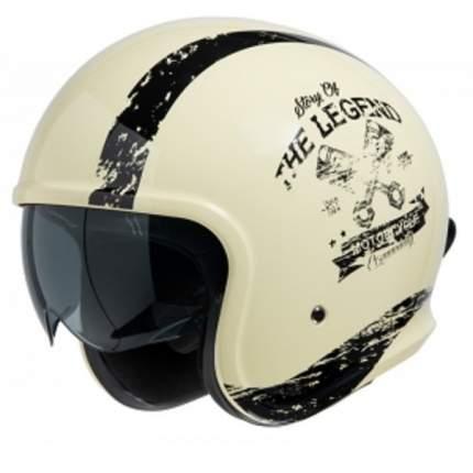 Мотошлем кроссовый IXS Jet Helmet iXS880 2.0 X10061 M13 White XS